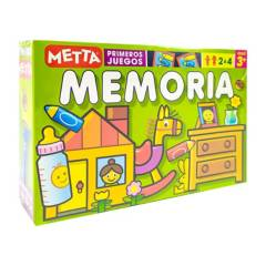 METTA - Juego didáctico metta memoria x 32 pcs