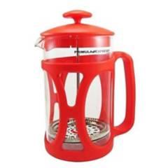 Primula - Cafetera prensa francesa roja 800ml primula