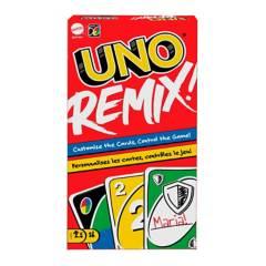 Mattel Games - Juego de carta Mattel Games UNO Remix