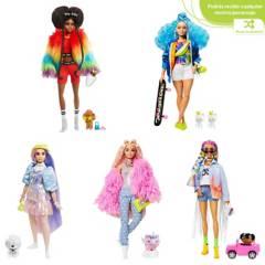 Barbie - Barbie Fashionista Barbie Extra Surtida
