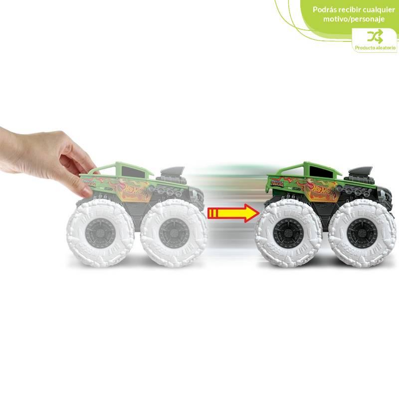 Hot wheels - Hot Wheels Monster Trucks 1:43 Llantas Todo Terreno Figura Aleatoria
