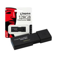 Kingston - Memoria usb kingston 128gb 3.0 dt100g3/128gb