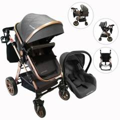 Happy Baby - Coches Travel System Alizze 3 en 1 Happy Baby