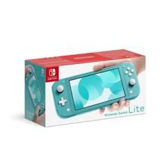 Nintendo - Consola nintendo switch lite 32gb turquesa