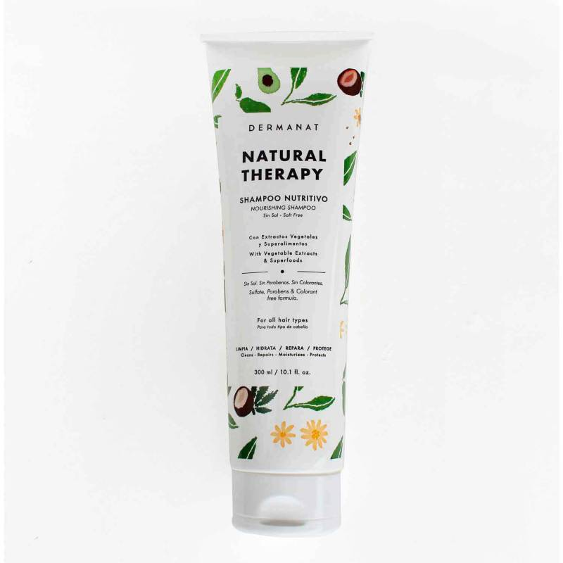 Dermanat - Shampoo Nutritivo Natural Therapy