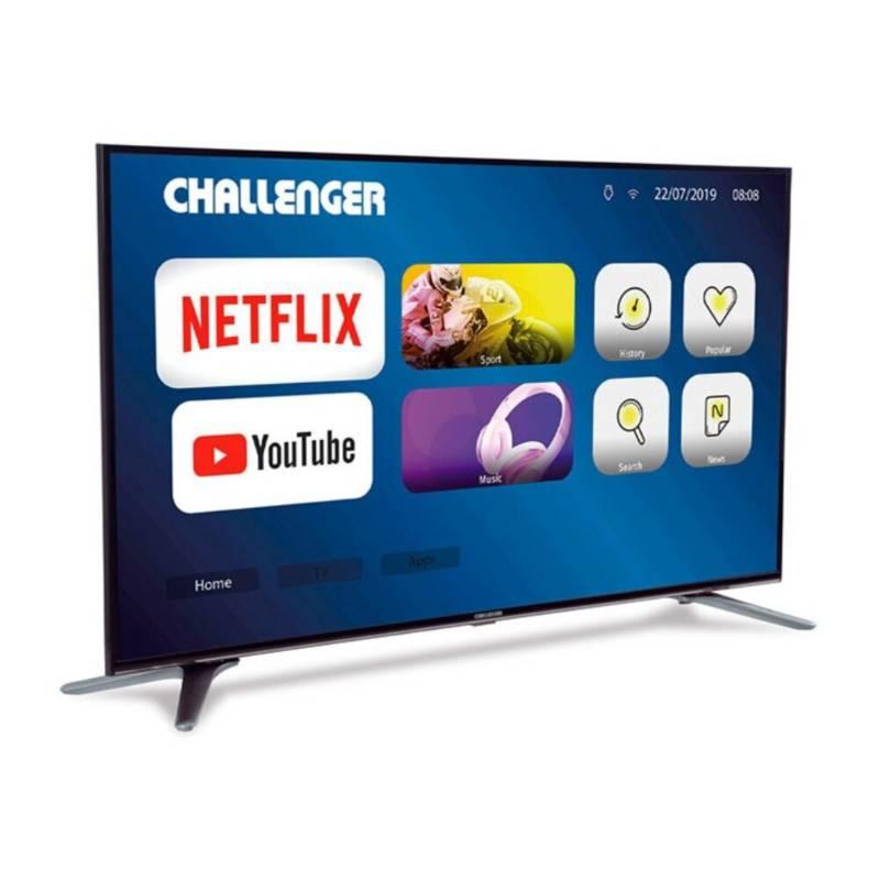 Challenger - Televisor Challenger 55 Pulgadas Led 4k