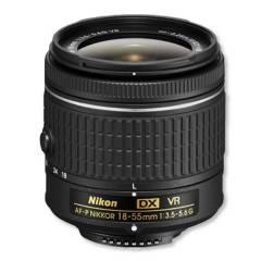 Nikon - Nikon 18-55mm f/3.5-5.6g vr af-p dx