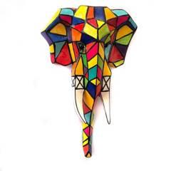 EGG PRODUCTOS DE PAZ - Elefante Pared Trompa Abajo.