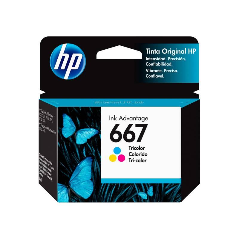 HP - Cartucho HP 667 Tri-Color Ink Cartridge