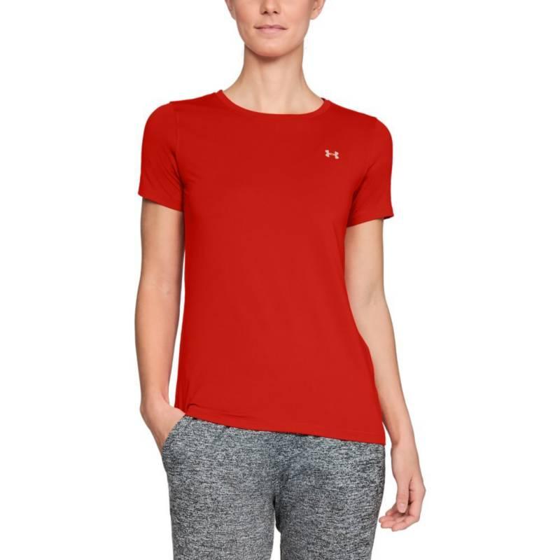 Under Armour - Camiseta under armour hg ss mujer