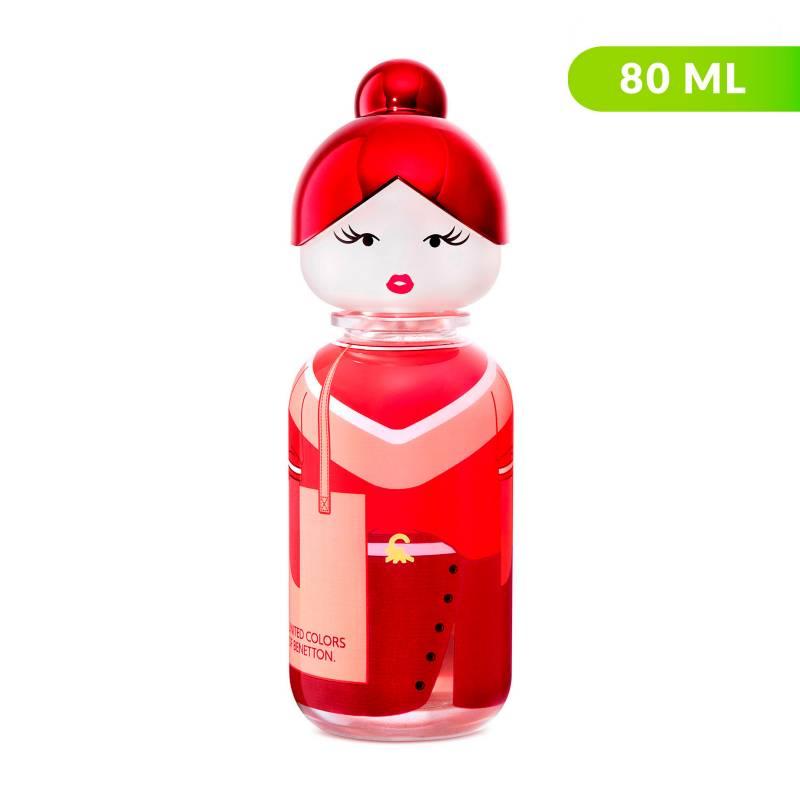 Benetton - Perfume Benetton Sisterland Red Rose Mujer 80 ml EDT