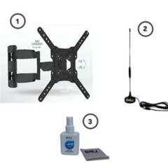 Technosoportes - Combo soportebrazo +antenatdt gratis kit limpieza