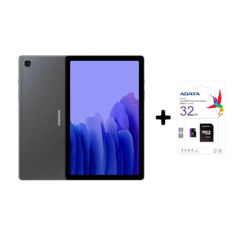 Samsung - Tablet samsung galaxy tab a7 lte 64gb gris + sd