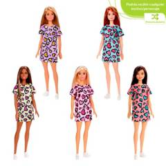Barbie - Barbie Fashionista Muñeca Básica Surtida