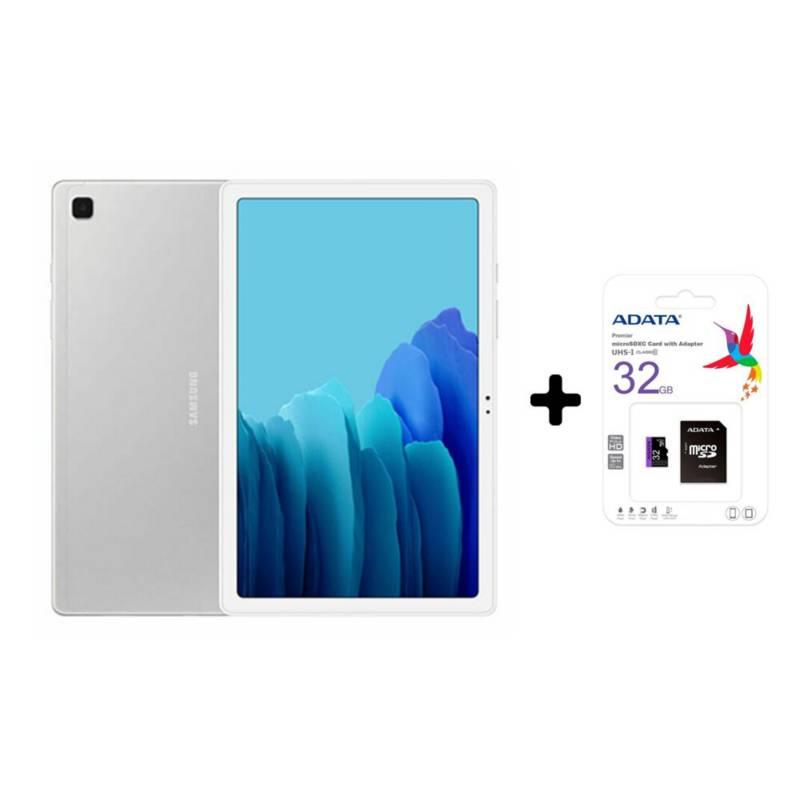 Samsung - Tablet samsung galaxy tab a7 wifi 64gb plata +sd