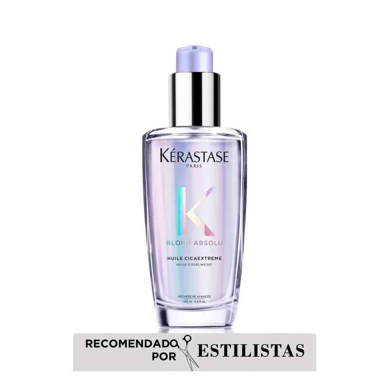 Kerastase - Aceite Reparador para cabello rubio  decolorado Huile Cicaextreme