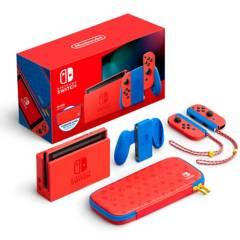 Nintendo - Consola Switch 1.1 Edición Especial Mario Red Blue 32GB
