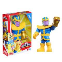 Marvel - Figura Marvel Super Hero Adventures Mega Mighties Thanos