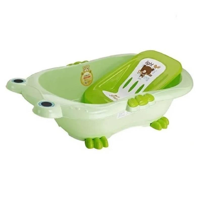 MUNDO BEBE - Tina bañera bebé ranita verde
