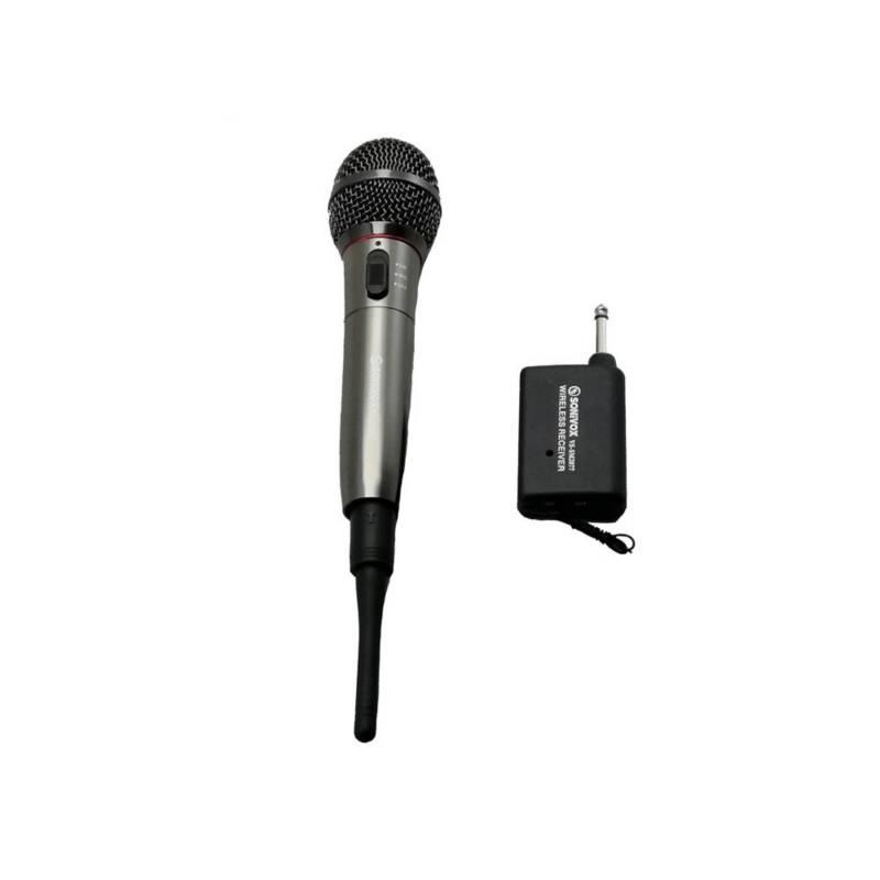 SONIVOX - Microfono profesional unidireccional inalambrico