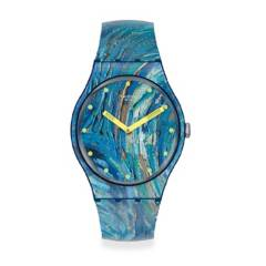 Swatch - Reloj Unisex Swatch The Starry Night By Vincent Van Gogh, The Watch