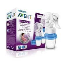 MUNDO BEBE - Kit extractor de leche avent + bolsas lactancia.