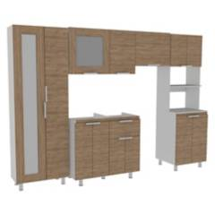 Ekonomodo Colombia - Combo de muebles cocina integral silou
