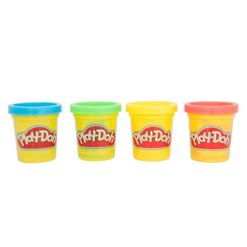 Play Doh - Play-Doh Mini Empaque x 4 Latas