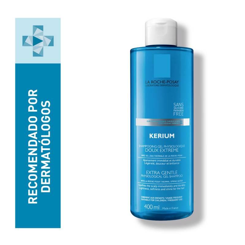 La Roche Posay - Shampoo para Cuero Cabelludo Sensible La Roche Posay Kerium Doux 400 ml
