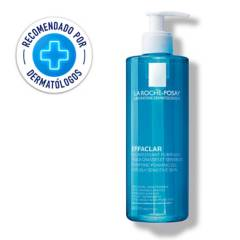La Roche Posay - Gel limpiador Facial piel grasa y/o tendencia acnéica La Roche Posay Effaclar Gel 400 ml