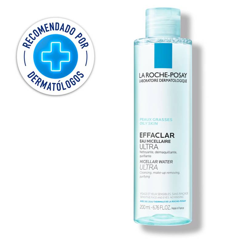 La Roche Posay - Limpiador Facial La Roche Posay Effaclar Agua Micelar Ultra 200 ml