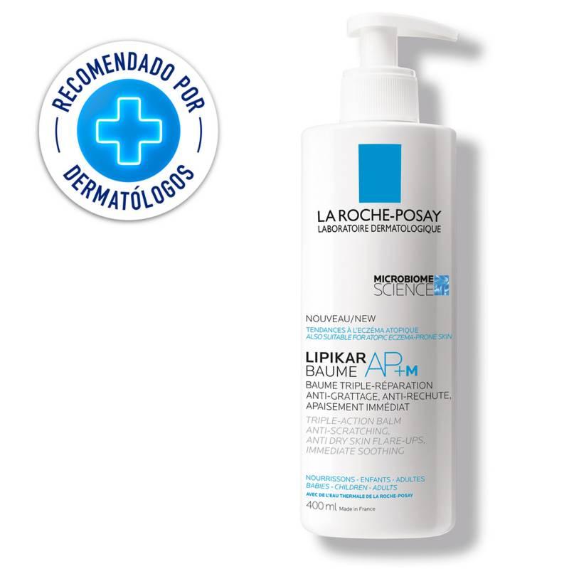 La Roche Posay - Hidratante Corporal Lipikar Baume AP + M La Roche Posay 400 ml