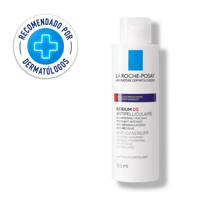 La Roche Posay - Shampoo Anti-Caspa La Roche Posay Kerium DS Intensivo 125 ml