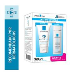 La Roche Posay - Set Tratamientos Reafirmantes Cicaplast Manos 100 ml - Agua Termal 50 ml
