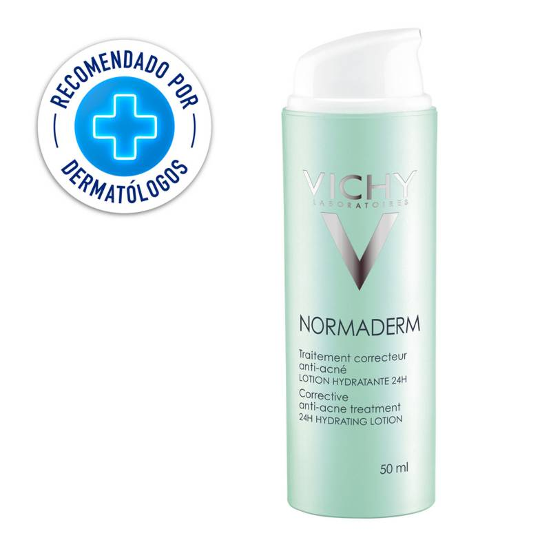 Vichy - Tratamiento Hidratante Piel Grasa con Imperfecciones Vichy Normaderm Skin Corrector 50 ml