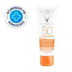 Vichy - Protector Solar Vichy Capital Soleil Anti- Manchas 3 en 1 SPF 50+ 50 ml