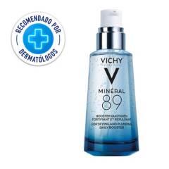 Vichy - Hidratante Fortalecedora para Rostro Mineral 89 Vichy con Ácido Hialurónico 50 ml