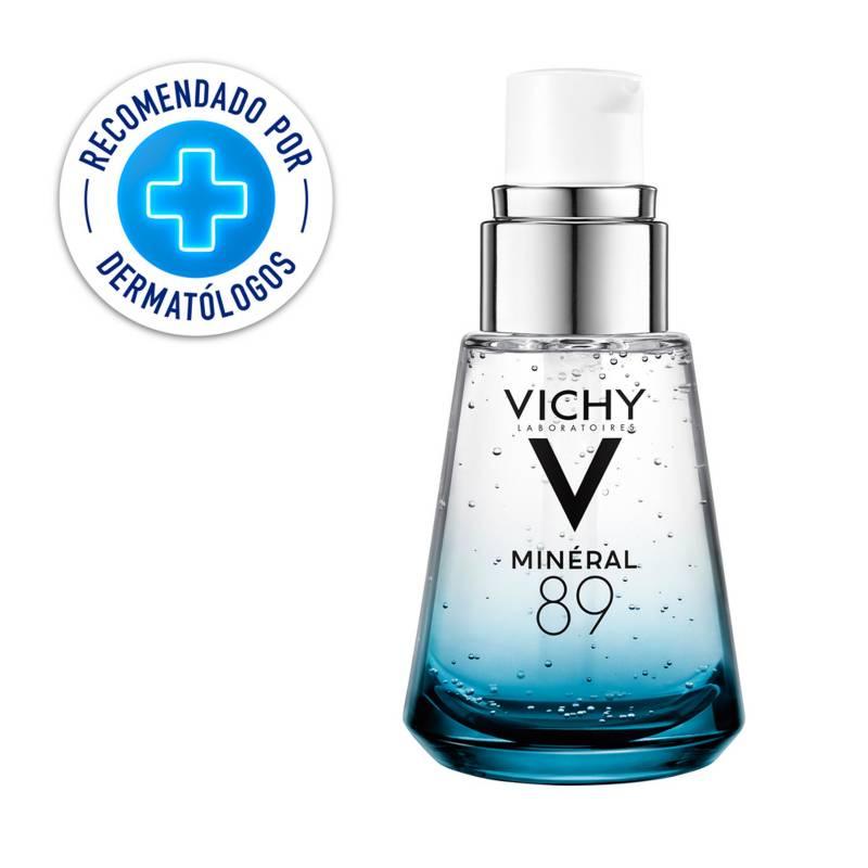 Vichy - Hidratante Fortalecedora para Rostro Mineral 89 Vichy con Ácido Hialurónico 30 ml