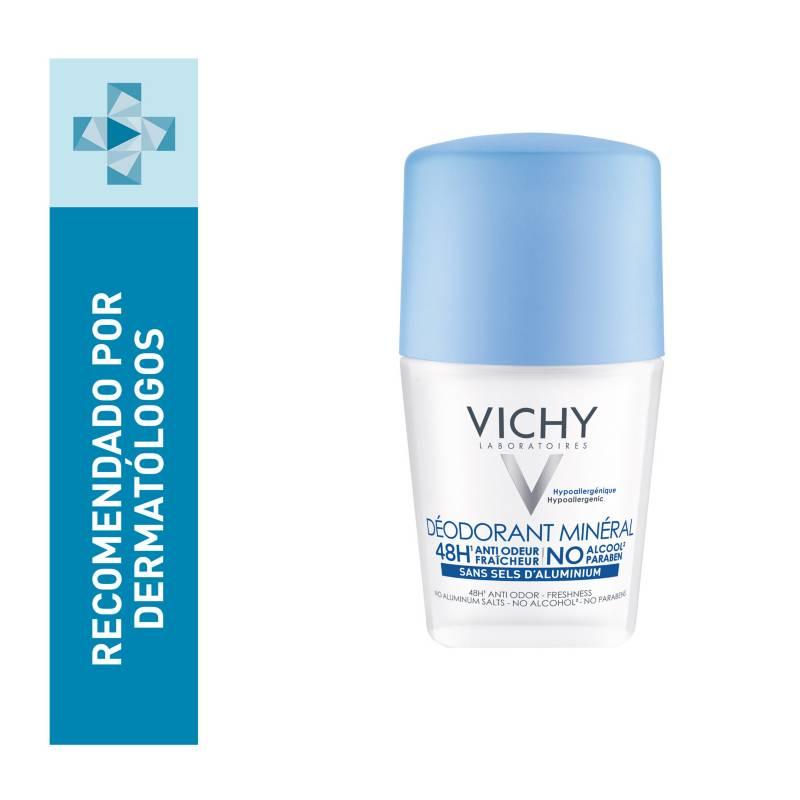 Vichy - Desodorante Anti Transpirante Vichy Roll-On Deo Mineral 48 Hr 50 ml