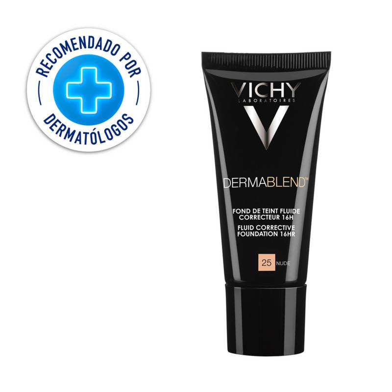 Vichy - Base de Maquillaje de Alta Cobertura Dermablend Fluido Tono 25 30 ml
