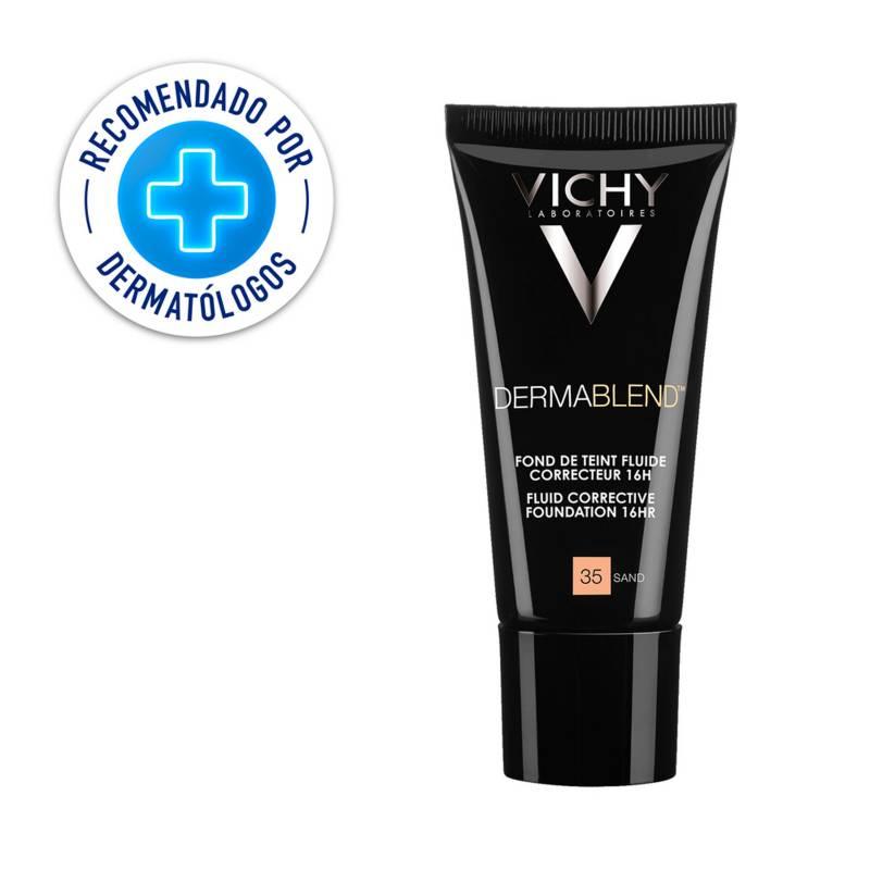 Vichy - Base de Maquillaje de Alta Cobertura Dermablend Fluido Tono35 30 ml