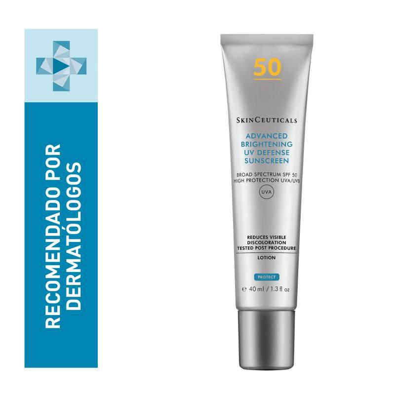 SkinCeuticals - Filtro solar con fórmula ultraligera: Advanced Brightening UV Defense SPF 50 SkinCeuticals 40 ml