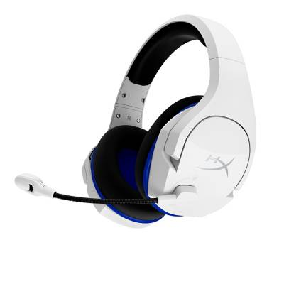 audífonos de diadema hyperx inalámbricos over ear gaming cloud stinger ps5 blanco bluetooth