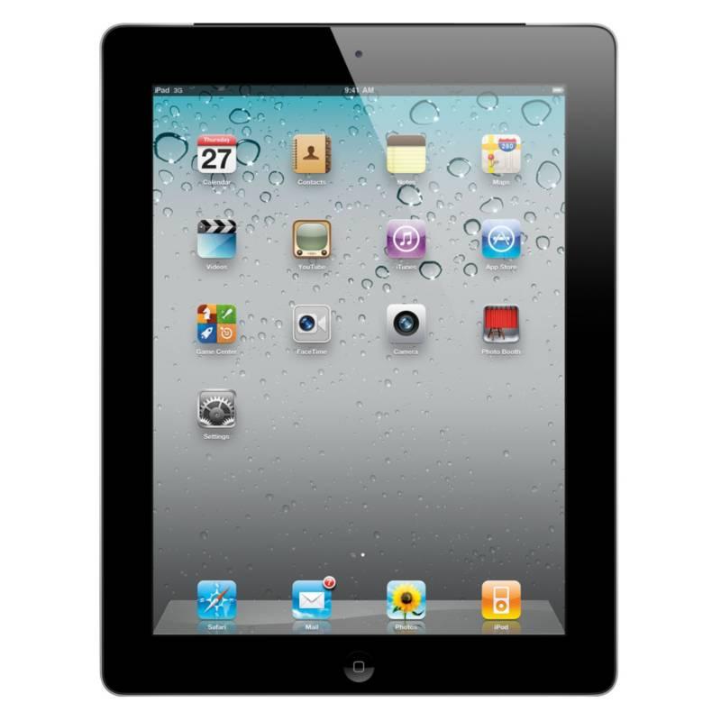 Apple - iPad 2 Wi-Fi + 3G 16GB Negro-SPA