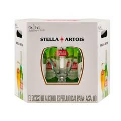 Stella - Stella Artois 330 ml x 6 + Caliz 250