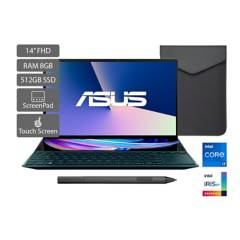 Asus - Portátil Asus Zenbook Duo UX482 14 pulgadas Intel Core i7 8GB 512GB