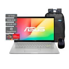 Asus - Portátil Asus Vivobook M413 14 Pulgadas AMD RYZEN R5 8GB 512GB