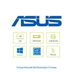Asus - Portátil Asus X415 14 Pulgadas Intel Celeron 4GB 128GB