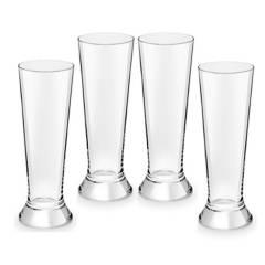 Royal Leerdam - Vaso de Cerveza Royal Leerdam Vidrio 4 Piezas 12 Oz