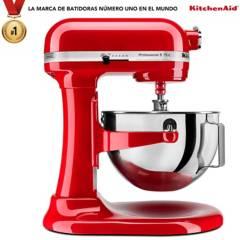 KitchenAid - Batidora de Pedestal KitchenAid Profesional Plus Rojo Imperial  4.7 lt 10 Velocidades 525W